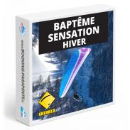 Baptême parapente sensation hiver