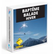 Baptême parapente balade hiver